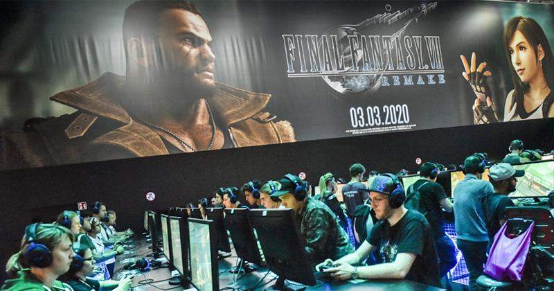 Square-Enix-Auftritt auf der Gamescom 2019 in Köln (Foto: KoelnMesse / Thomas Klerx)