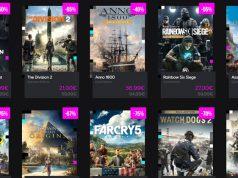 Rabatte von bis zu 90 Prozent gelten beim Black Friday Sale 2019 im Ubisoft Store (Screenshot)