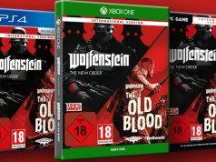 """Ausgewählte Händler und Versender bieten die """"Wolfenstein""""-Spiele als ungeschnittene """"International version"""" an (Abbildungen: Bethesda)"""