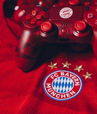 Gegen den eSport-Einstieg des FC Bayern München regt sich Protest bei den Fans in der Südkurve (Foto: FC Bayern München AG)