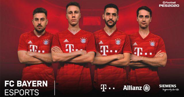 Der FC Bayern eSports startet mit drei spanischen und einem österreichischen eSportler in der eFootball.Pro-Meisterschaft von Konami (Foto: FC Bayern München AG)