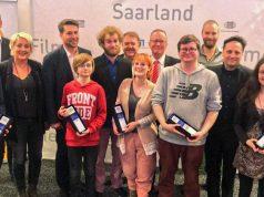 Preisträger und Ausrichter des Game Award Saar 2019 bei der Verleihung am 19. Dezember in Saarbrücken (Foto: Saarland Medien)