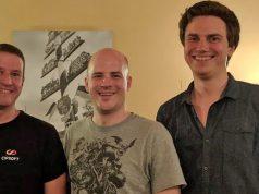 Benjamin Zuckerer (links) bildet mit Hendrik Lesser und Johannes Roth den Vorstand von Games Bavaria Munich (Foto: GBM)