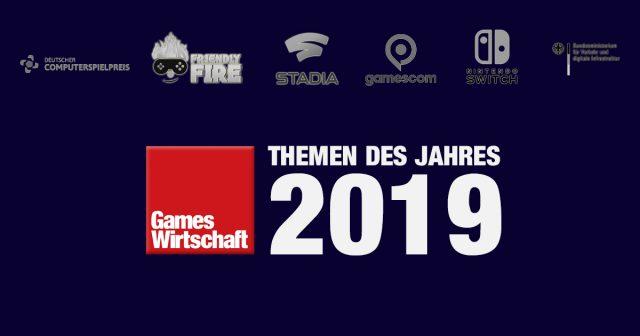 GamesWirtschaft Jahresrückblick 2019: Das waren die gefragtesten Themen im Jahr 2019