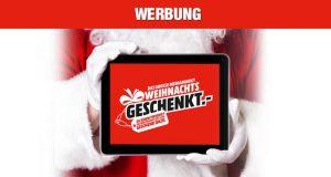 Es weihnachtet sehr: Zu den MediaMarkt-Weihnachts-Angeboten gehört eine neue 2+1-Aktion (Abbildung: MediaMarkt Saturn)