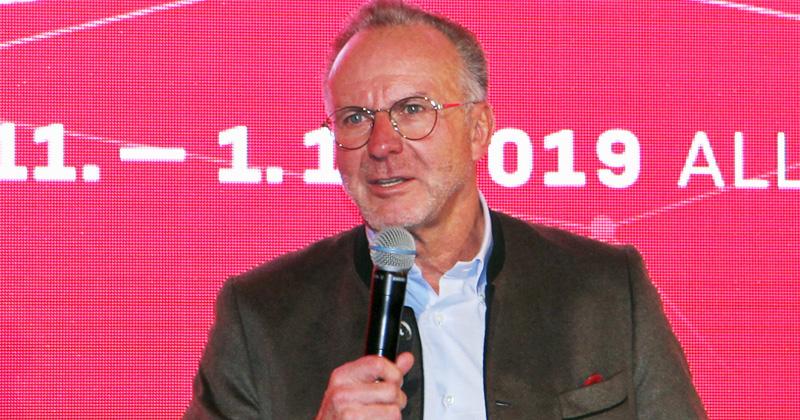 El CEO del Bayern de Múnich, Karl-Heinz Rummenigge