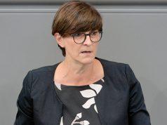 50 Prozent der SPD-Spitze: Digitalpolitikerin Saskia Esken (Foto: Deutscher Bundestag / Achim Melde)