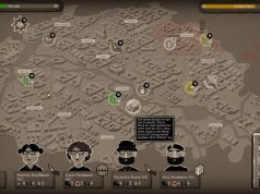 Through the Darkest of Times: Auf einer interaktiven Berlin-Karte plant der Spieler die Aktionen (Abbildung: HandyGames)