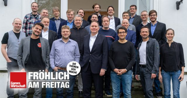 Hamburgs Spiele-Branche zu Gast beim Kultursenator - darunter nur eine Frau (nicht im Bild: Fotografin Julia Rogalitzki)