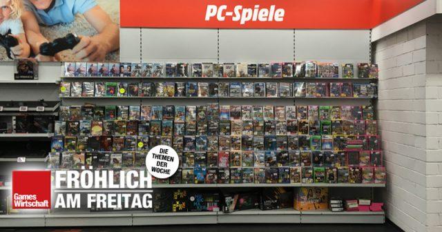 Die Realität in vielen deutschen Elektronikmärkten: Das Games-Angebot schnurrt zusehends zusammen.
