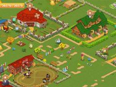 """Szene aus der Switch-Version von """"Horse Farm"""" (Abbildung: Upjers)"""