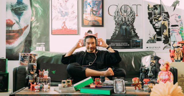 Toan Nguyen baut JvM/Nerd auf (Foto: Jung von Matt)