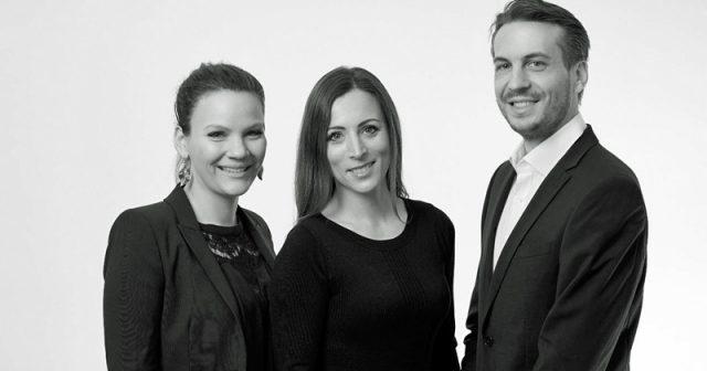 Freyja Melhorn, Agentur-Chefin Ariane Poschner und BXDXO-Gründer Stefan Dettmering unterstützen die PR-Arbeit von Publisher Zenimax (Foto: Swordfish)
