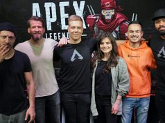 Apex Legends-Kampagne: Fahri Yardim (links), Joyce Ilg (3.v.r.) und Bodyformus (rechts) werden von Letsplayern gecoacht (Foto: EA)
