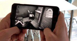 """Das Mobilegame """"Der Nasse Fisch"""" wird vom BMVI mit 175.000 Euro gefördert (Abbildung: Garlic Games)"""