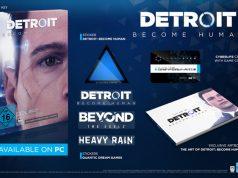 """Ab 20. März im Handel: die PC-Version von """"Detroit: Become Human"""" (Abbildung: Koch Media)"""