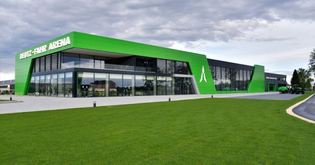 Die FarmCon 2020 findet in der Die Deutz-Fahr Arena in Lauingen statt (Foto: Giants Software)