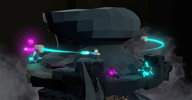 """Beim DCP 2019 prämiert, jetzt vom BMVI gefördert: Action-Spiel """"Orbital Bullet"""" (Abbildung: Smokestab)"""