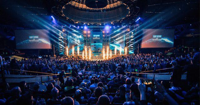 Die Spodek Arena bleibt leer: Die IEM Katowice 2020 muss wegen Coronavirus-Sorgen ohne Publikum stattfinden (Foto: ESL / Adela Sznajder)