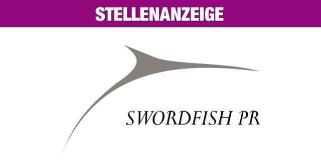 Stellenanzeige: Swordfish PR - Junior PR Berater - München