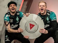 Virtual Bundesliga 2020: Dr. Erhano und MegaBit holen für Werder Bremen die Klub-Meisterschale (Foto: DFL / Getty / Christian Kaspar Bartke)