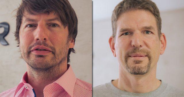 Zwei der fünf Yager-Gründer: Timo Ullmann und Philipp Schellbach (Foto: Yager)