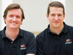 CipSoft-Geschäftsführer Stephan Vogler und Benjamin Zuckerer