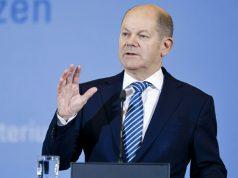 Gemeinsam mit Wirtschaftsminister Peter Altmeier stellt Finanzminister Olaf Scholz die Eckpunkte der Coronakrise-Soforthilfen vor (Foto: Bundesministerium der Finanzen)