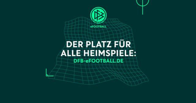 Seit dem 26.3.2020 am Netz: die Plattform DFB-eFootball (Abbildung: Deutscher Fußballbund)