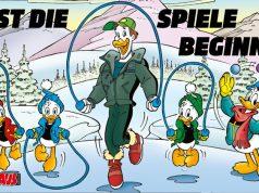 Mit einem 6seitigen Comic im Magazin Micky Maus propagiert der DOSB einen sportlichen Lebenswandel (Abbildung: DOSB)