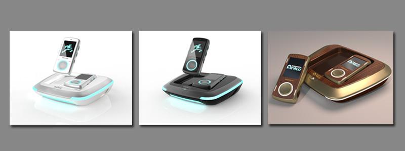 Gletscherweiß, Graphitschwarz, Vintage: Die drei Varianten der Intellivision Amico VIP-Edition (Abbildungen: Hersteller)