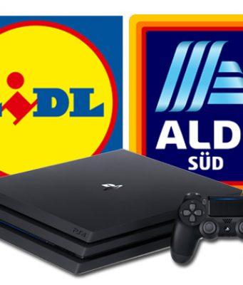 Aldi Süd und Lidl bieten PlayStation-4-Bundles an (Abbildungen: Sony / Aldi / Lidl)