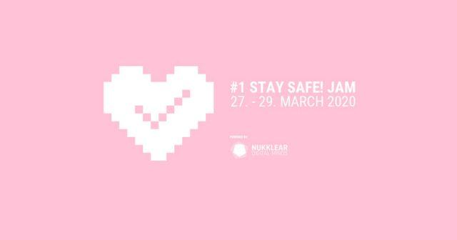 Gemeinsam gegen das Coronavirus: Der Stay Safe Jam steigt vom 27. bis 29. März (Abbildung: Nukklear Games)
