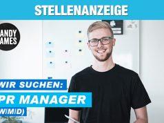 Stellenanzeige: Der unterfränkische Publisher HandyGames sucht eine/n PR Manager m/w/d