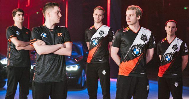 Die Trikots des Berliner E-Sport-Teams G2 ESports sind neuerdings serienmäßig mit einem BMW-Logo ausgestattet (Foto: BMW Group)