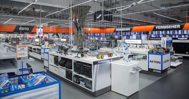 Nach Ansicht des Hamburger Verwaltungsgerichts dürften auch Elektromärkte wie hier Saturn mehr als 800 Quadratmeter Verkaufsfläche anbieten (Foto: MediaMarktSaturn)
