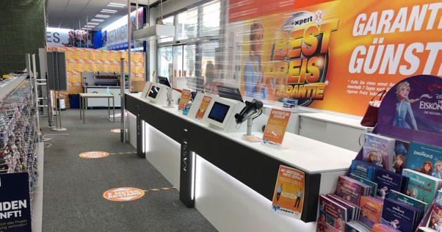 Corona-Lockerungen: Immer mehr Elektromärkte haben wieder geöffnet (Foto: Expert)