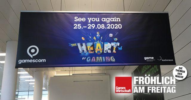 Die Gamescom 2020 findet ab 25.8. (geplant) und rein digital (nicht geplant) statt - Foto: GamesWirtschaft