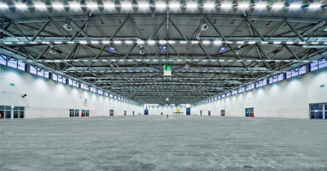 Ein Gebäude auf dem Kölner Messegelände - hier Halle 8 - soll zu einem Corona-Lazarett umgebaut werden (Foto: KoelnMesse)