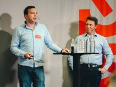 ESL-Top-Manager Ralf Reichert und David Neichel (Foto: MTG / Henrik Bjorkman)