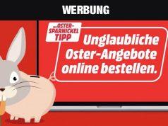 Überraschungen vom Sparnickel: Die Oster-Angebote von MediaMarkt sind gültig bis zum 14. April 2020 (Abbildung: MediaMarkt)