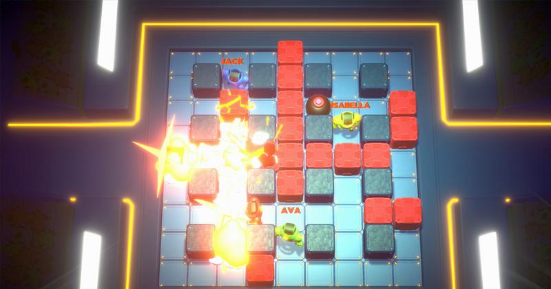 """Ab 1.6. bei Steam und in den Appstores: """"Bomb Bots Arena"""" (Abbildung: Tiny Roar)"""