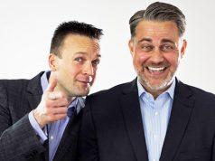 Die beiden Geschäftsführer von Daedalic Entertainment: COO Stephan Harms und CEO Carsten Fichtelmann (Foto: Daedalic)