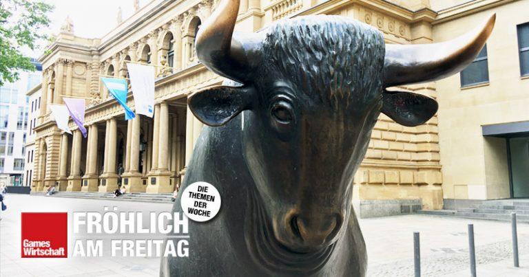 An der Frankfurter Börse wird keine deutsche Computerspiele-AG mehr gehandelt (Foto: Fröhlich)