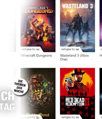 Eines von vielen Flatrate-Angeboten: Microsofts Xbox Game Pass