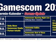So sieht das überarbeitete, vorläufige Programm der Gamescom 2020 aus (Stand: 18. Mai 2020)