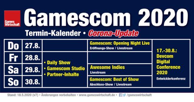 Gamescom Termin 2021