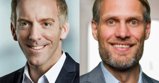 Verantworten die Gamescom: KoelnMesse-Manager Tim Endres und Christian Baur vom Game-Verband (Fotos: KoelnMesse / Game)