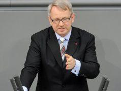 Johannes Kahrs, haushaltspolitischer Sprecher der SPD-Fraktion (bis 5.5.2020 / Foto: Deutscher Bundestag / Achim Melde)