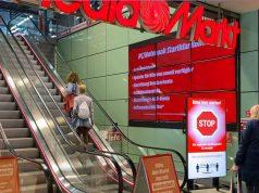 """Corona-Einlasskontrolle: So sehen die """"digitalen Türsteher"""" von MediaMarkt und Saturn in der Praxis aus (Foto: MediaMarktSaturn Holding)"""